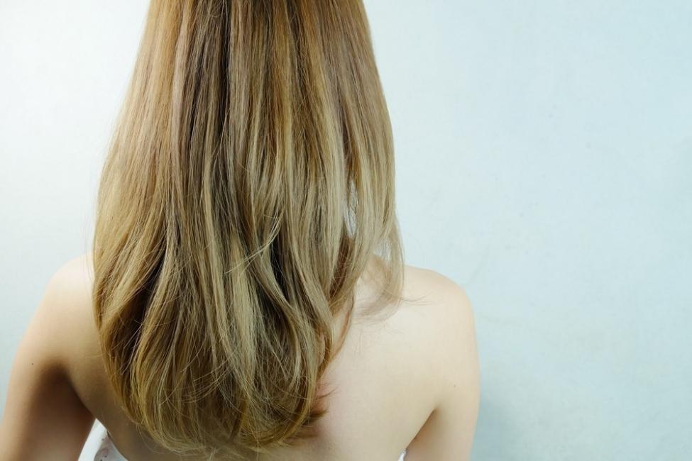 cabello aclarado con manzanilla antes y despues de adelgazar