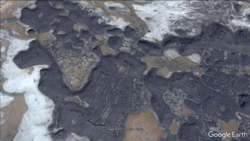 Las estructuras pueden tener más de 7 mil años