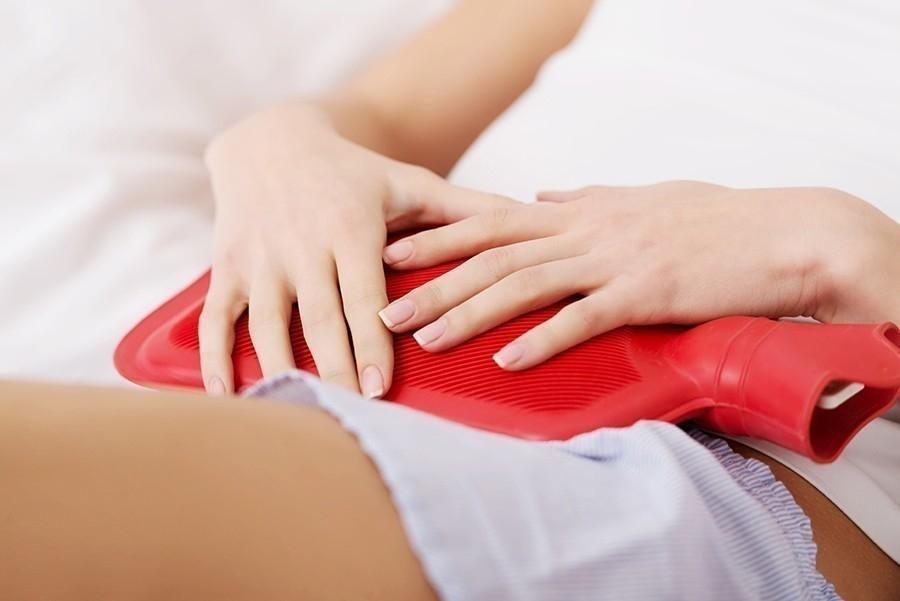 dolor de ovarios- calor y masajes