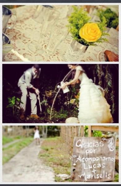 Eco-Vintage Little Wedding 2