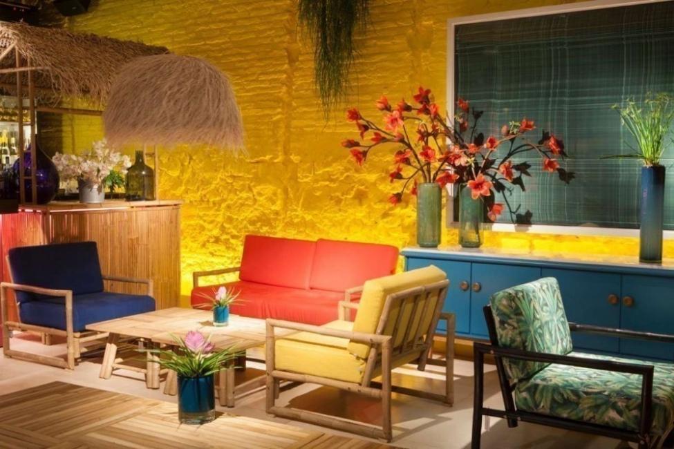 Cómo decorar con estilo tropical- galería