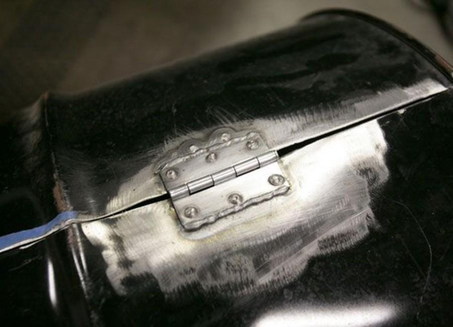 hacer un horno- parrilla con un barril reciclado - paso 4