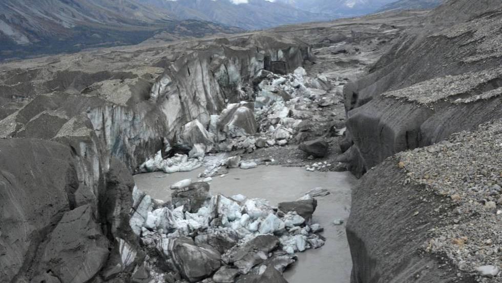 río slims desaparece
