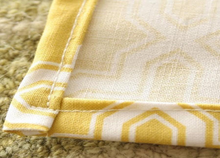 cortinas romanas- dobladillo