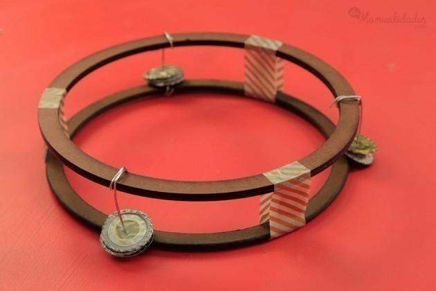 instrumentos musicales para niños- pandereta
