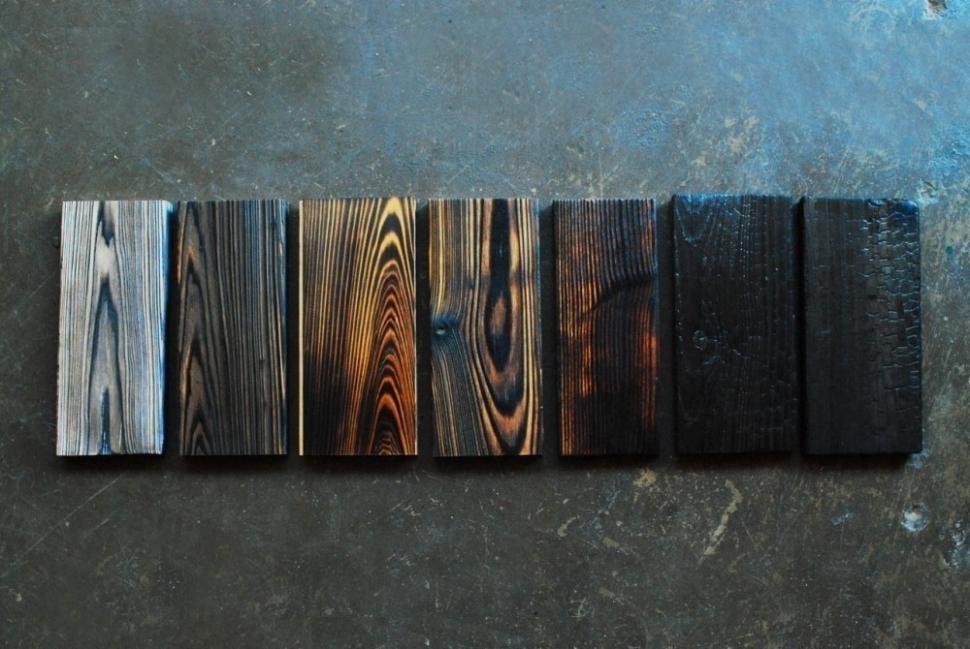 Técnica japonesa para conservar la madera