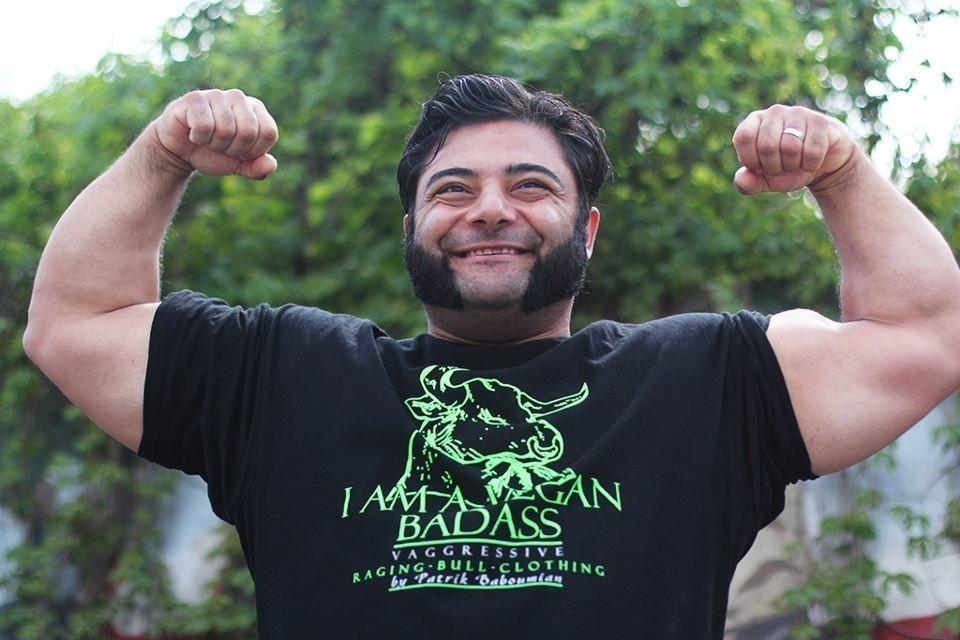 patrik- vegetariano más fuerte del mundo