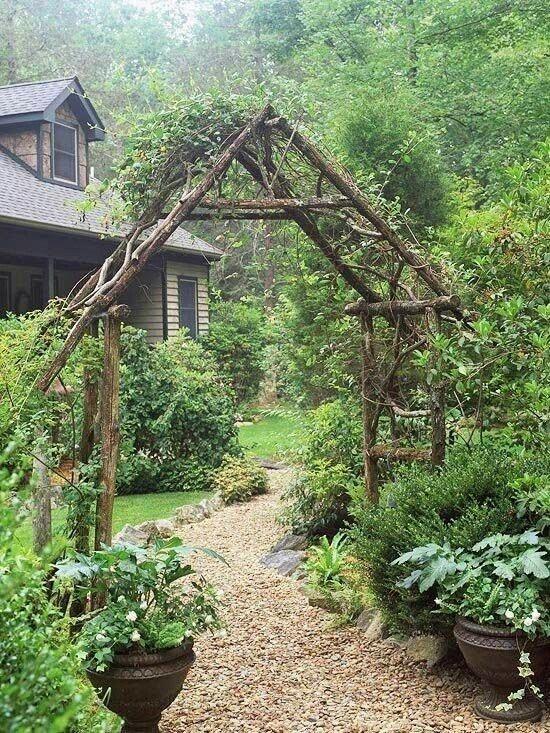 gazebos- Rincones cubiertos para disfrutar del aire libre - plantas rastreras