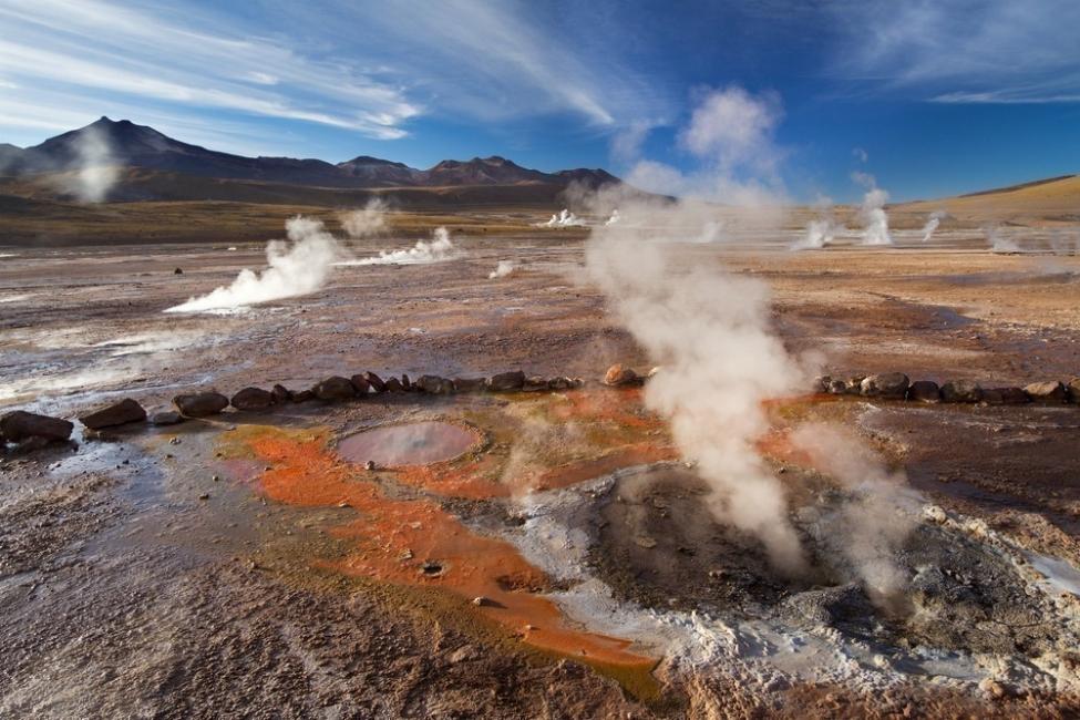 2. Géiseres de Atacama - Chile