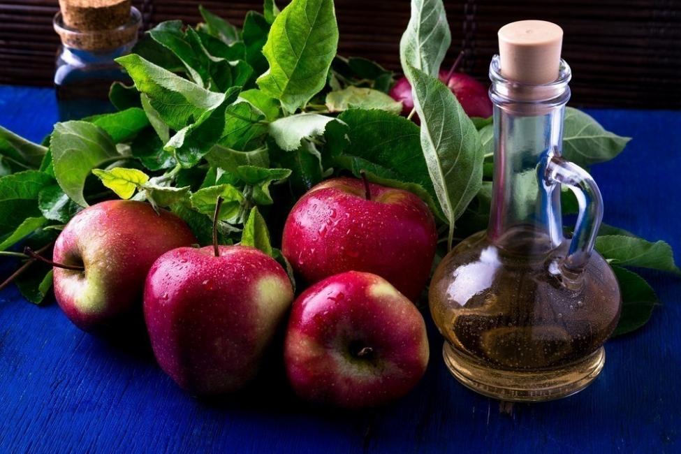 Vinagre de manzana repelente