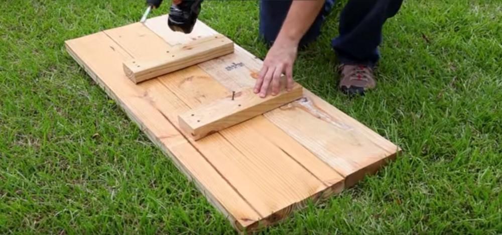 huerta elevada cama elevada para jardinería DIY- piezas de madera