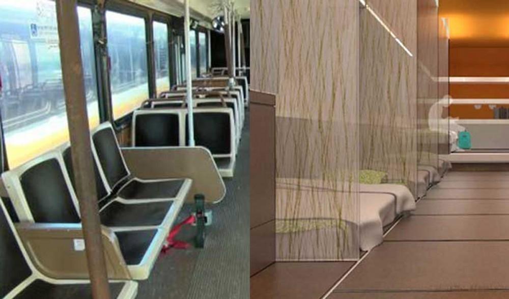 buses para sin techo - refugios sin techo