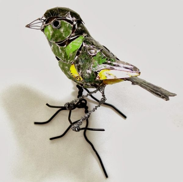 Natsumi Tomita Esculturas Recicladas 20
