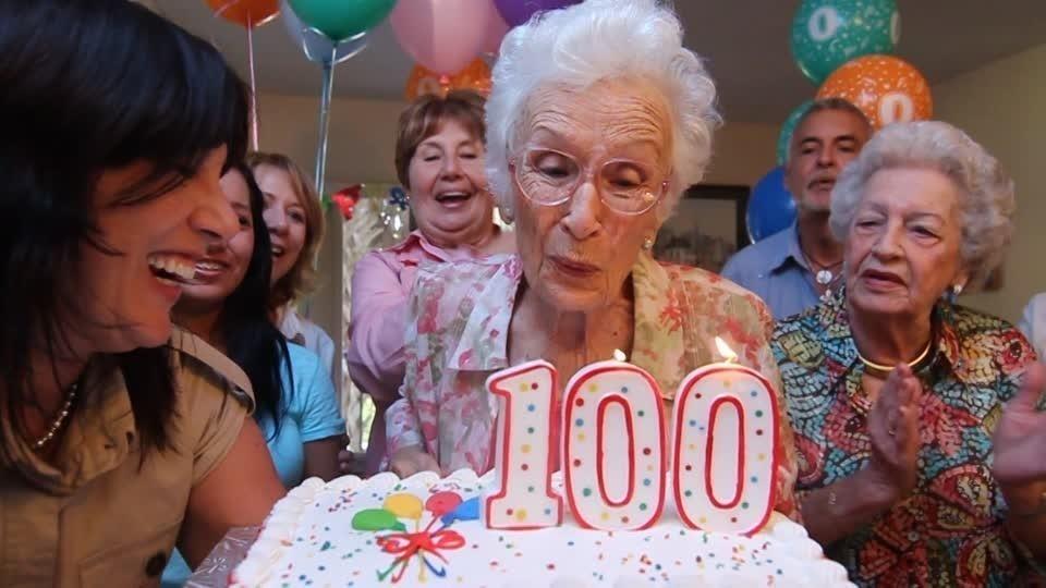 cumpleaños 100