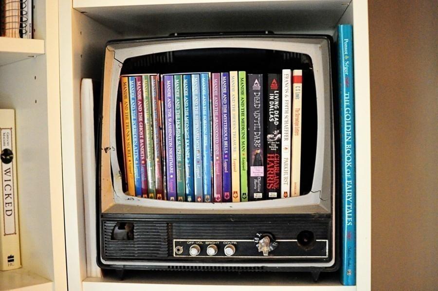 reutilizar basura electrónica - televisor
