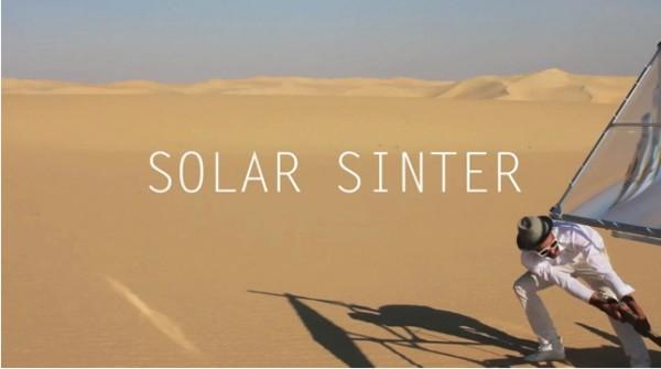 solar-sintering