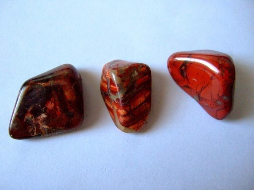Piedras naturales: usos y propiedades- jaspe roja