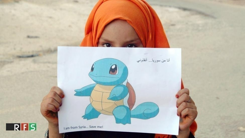 camapaña pokemon go siria