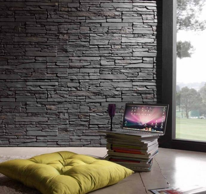 renovar tus espacios con falsa piedra- sala