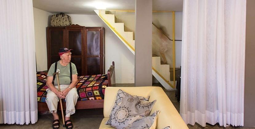 Henricão- loft abuelo- transforman taller en casa