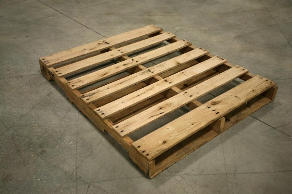 hacer una mesa para el comedor con pallets - materiales