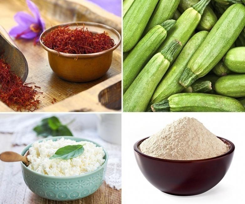 Tarta multicereal de verduras y ricota- ingredientes