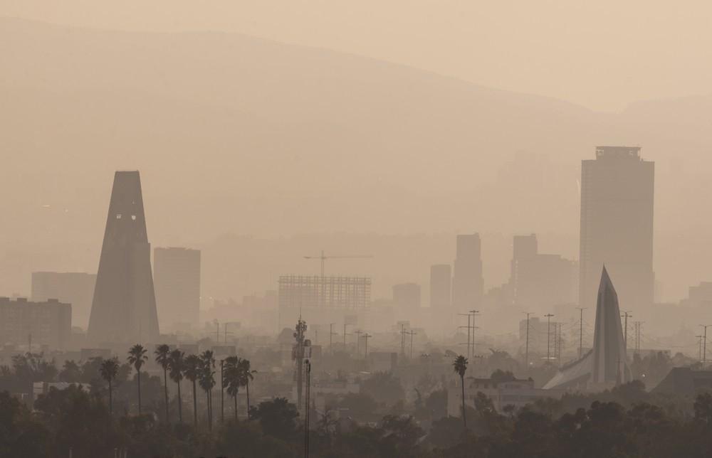El aire contaminando afectará más a las grandes ciudades.