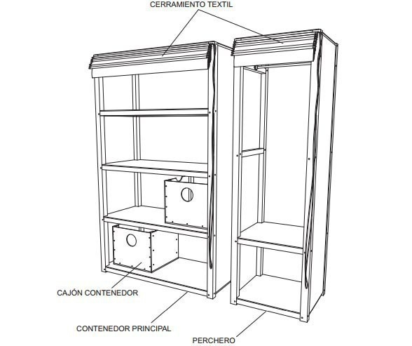 ropero- esquema- construir- planos