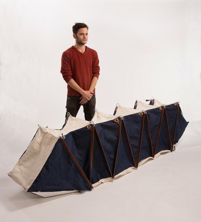 mochila plegable- carpa- tienda
