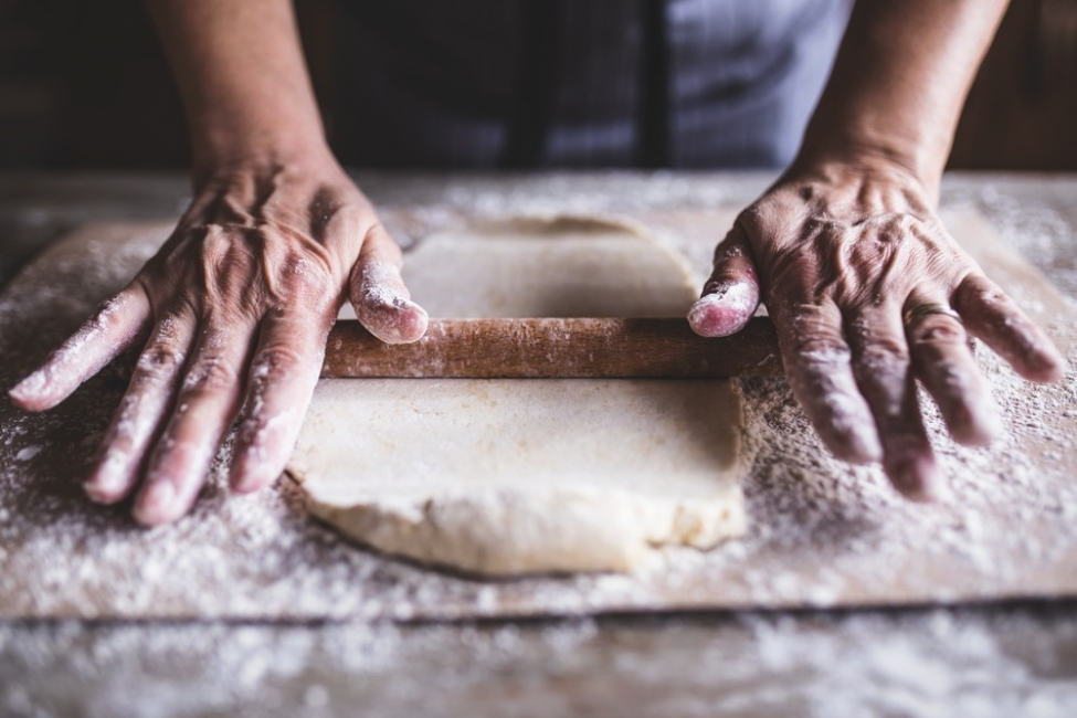 pan de champiñones- palote