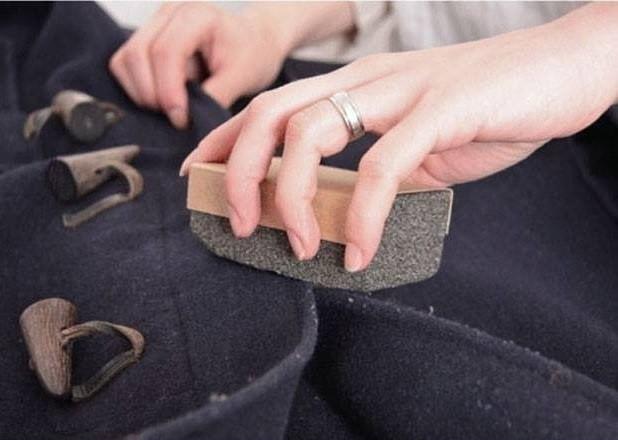 truco para ropa piedra pómez