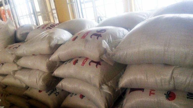 """Arroz """"plástico"""" incautado en Nigeria"""
