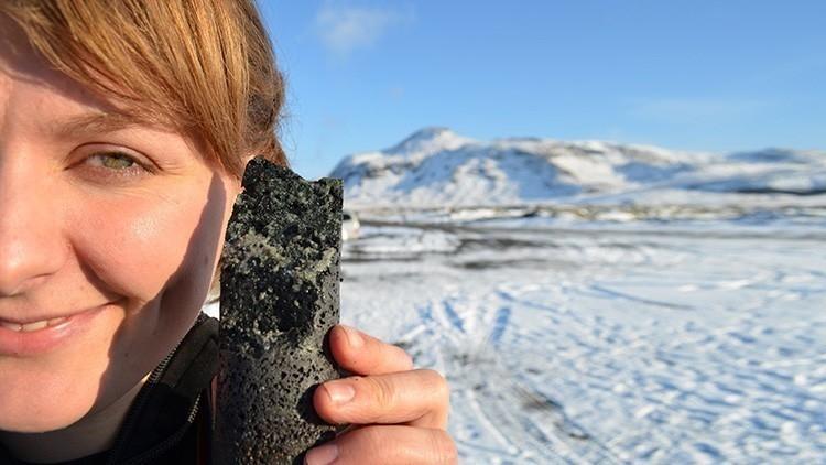 islandia Una solución que convierte el dióxido de carbono de la atmósfera, ¡en piedras!