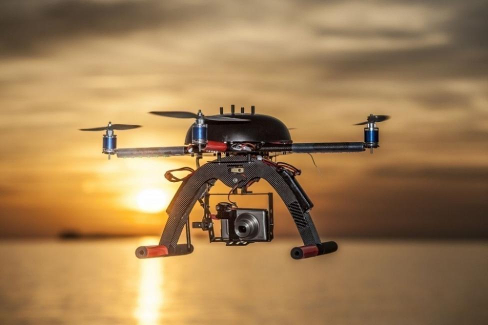 Dron que detecta la contaminación en el aire -prototipo