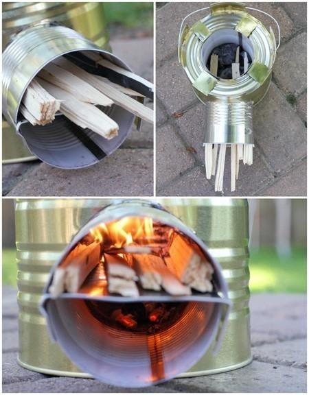 estufa rocket - cocina rocket- mini cocina - cómo hacer