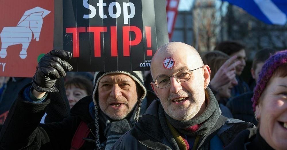 Acuerdo de libre comercio EEUU- UE- TIIP- manifestaciones