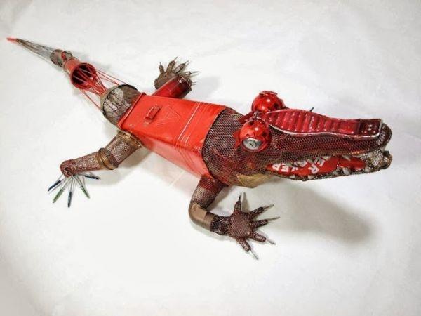Natsumi Tomita Esculturas Recicladas 8
