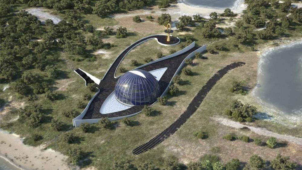 Casa autosuficiente del ojo de horus- arquitectura garrido
