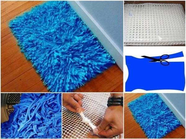 alfombra reciclada