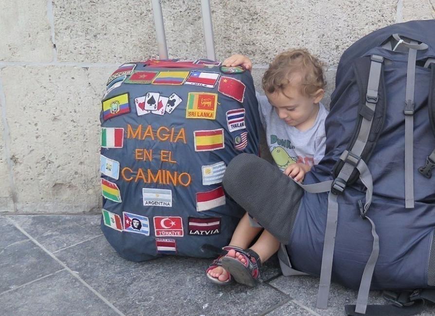Magia en el camino- viajar con un niño