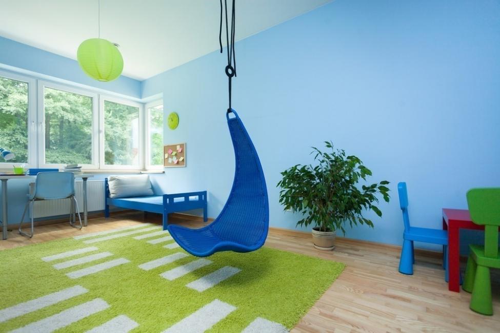 silla colgante para niños