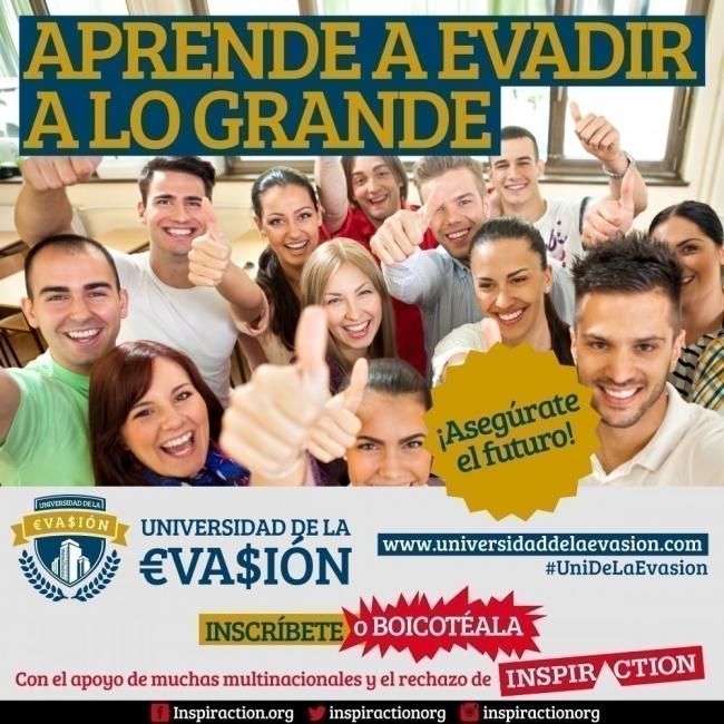 universidad de la evasión- campaña creativa