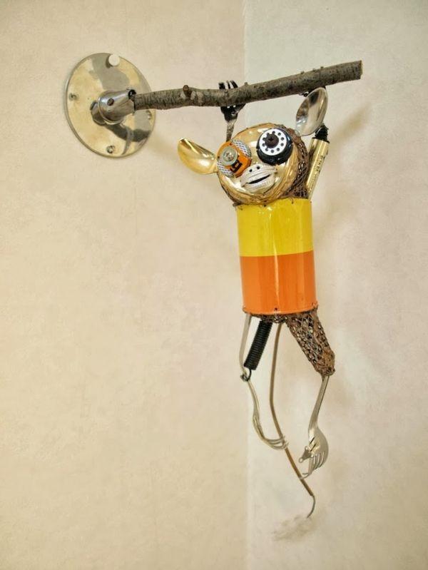 Natsumi Tomita Esculturas Recicladas 9