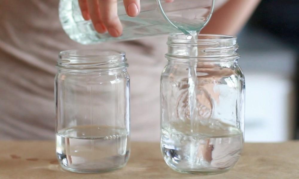 Cómo hacer una lámpara tipo lava casera- agua
