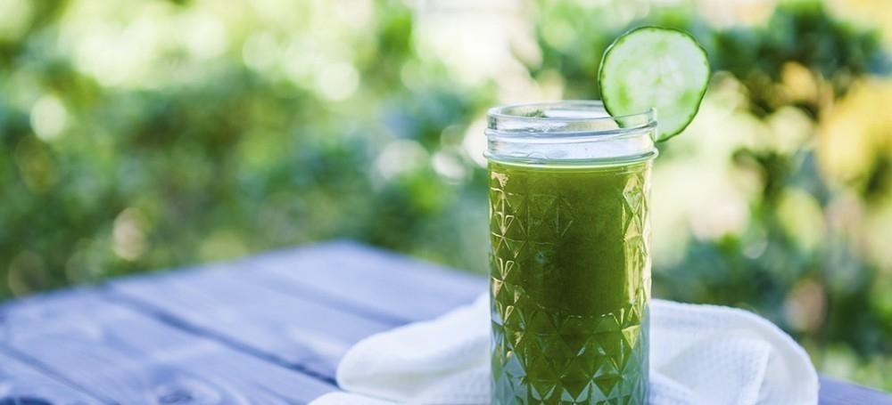 batido verde para controlar el apetito