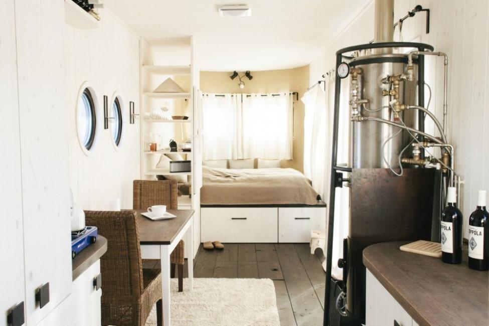 Una encantadora casita en muy pocos metros cuadrados- organizacion interior
