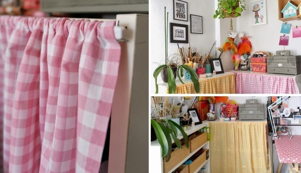 cortinas sin coser - terminadas