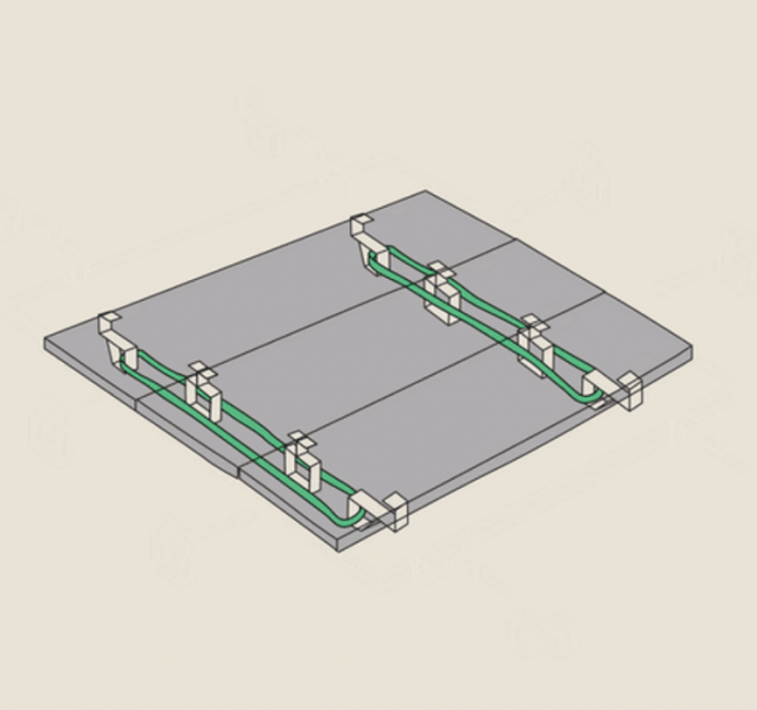 Cómo construir una base para tu cama fácilmente- esquema