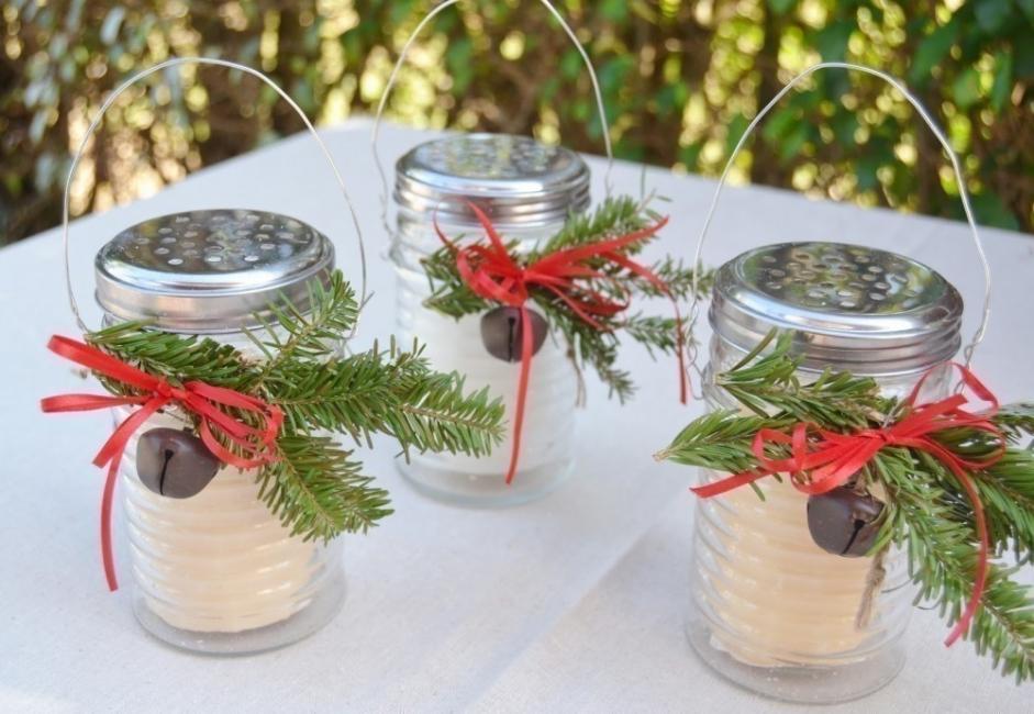15 ideas para decorar tus velas navide as - Saleros originales ...