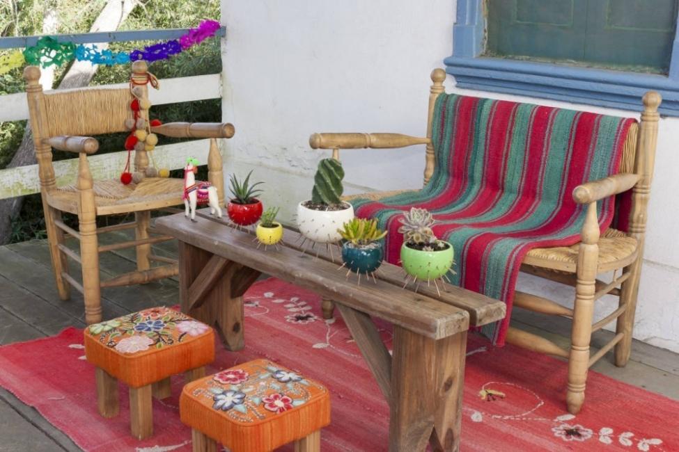 18 ideas para decorar patios y jardines for Macetas para exteriores decoracion